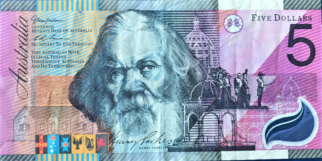 【怪訝な顔をする店員】オーストラリア 旧5ドル札を手に入れたのでまとめる【紙幣シリーズ】