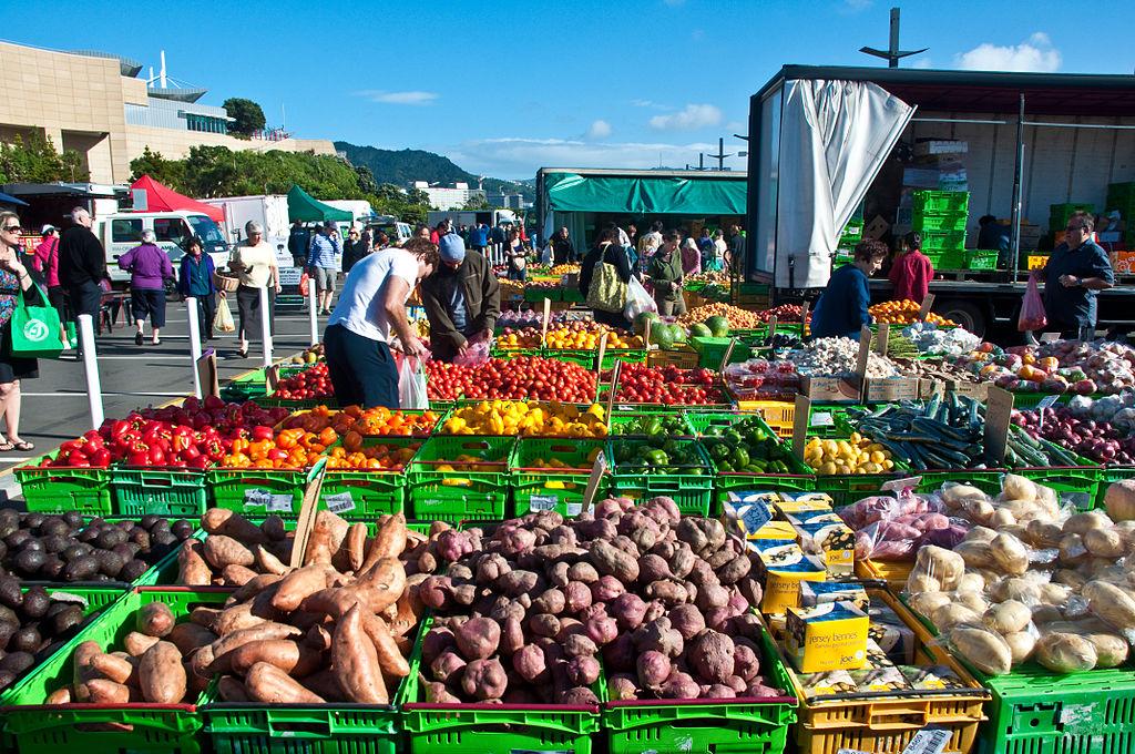 【安い野菜に美味しい料理!】ウェリントンの朝市 Harborside Marketについての紹介