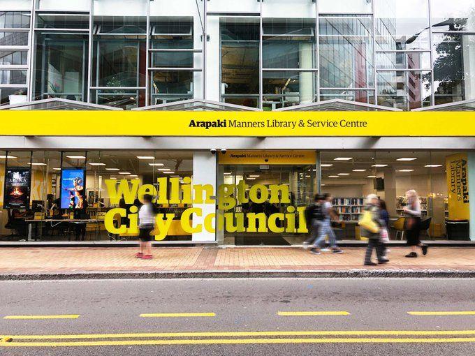 【ウェリントン シティ内にある図書館】Arapaki Manners図書館に行ってみた
