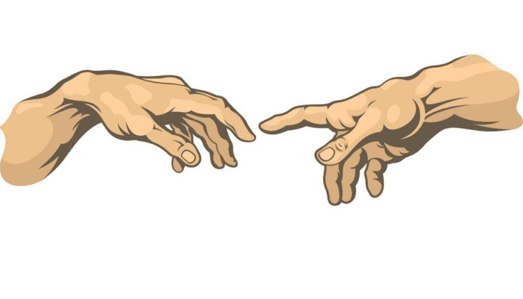 сказал, руки тянутся друг к другу картинки без фона имена