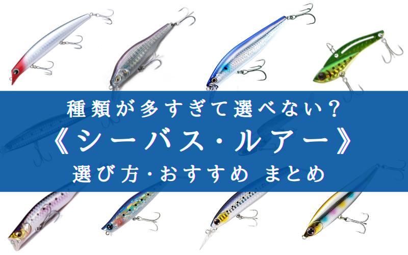 【2021年】釣れる!《シーバス ルアー》選び方・おすすめ人気ランキング17選