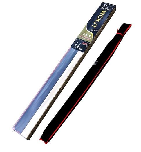 おすすめ万能竿(WCKJT 釣り竿(4.5m) 炭素伸縮釣竿)2