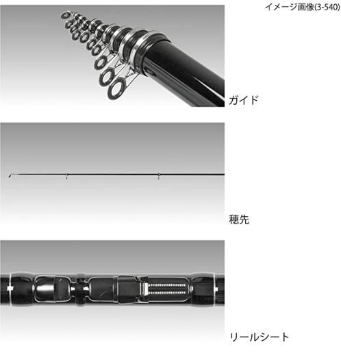 サビキ釣竿 おすすめ(TAKAMIYA サビキボンバー 2-450)2